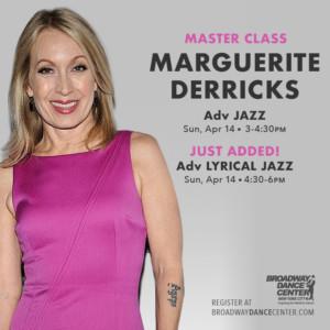 Marguerite Derricks Comes to Broadway Dance Center