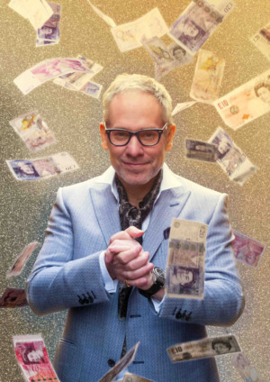 DOMINIC FRISBY'S FINANCIAL GAME SHOW Comes to Edinburgh