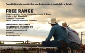 Johnny B. Dunn's FREE RANGE: FACING THE BULL – OR THE BULLY to Screen as Part of Fresh Fruit Fest