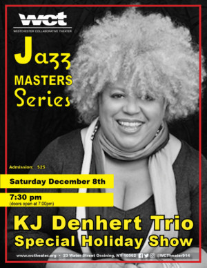 KJ Denhert & Trio Perform Special Westchester Collaborative Theater Holiday Concert