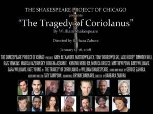 Casting Announced For Shakespeare's Political Thriller CORIOLANUS