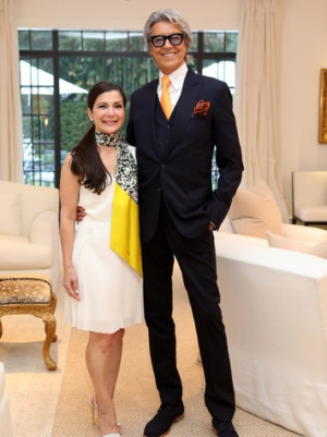 Tony Petrello Welcomes Tommy Tune Home To Houston