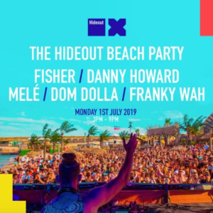 Hideout Announce Beach Party Lineup