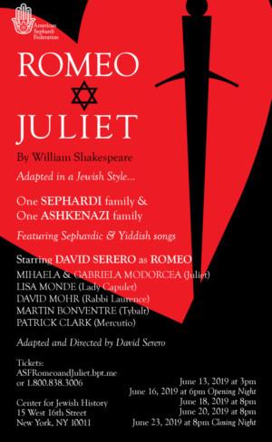 Jewish Adaptation of ROMEO AND JULIET to Make World Premiere