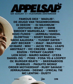 Appelsap Drops Full Bill For 2018 Plus Visual Campaign Is An Ode To Hiphop History