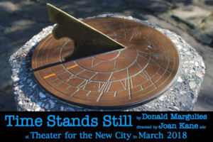 Ego Actus and LungTree Productions present TIME STANDS STILL