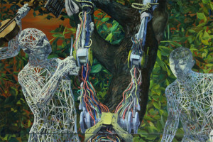 West Harlem Art Fund And Eli Klein Gallery Present Artist Miao Xiaochun On Governors Island