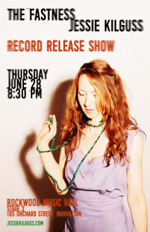 Jessie Kilguss to Hold Record Release Show at Rockwood Music Hall