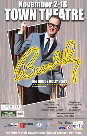 BUDDY: THE BUDDY HOLLY STORY Comes to Town Theatre