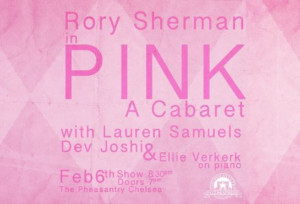 PINK, A Cabaret, Comes to The Pheasantry