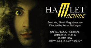 Armenian Solo Show To Debut Off-Broadway