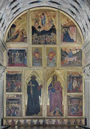 San Miniato Basilica Celebrates 1000th Anniversary With Restoration Of 15th C. Chapel Of The Crucifix Thanks To Support Of Friends Of Florence