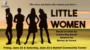 The 574 Theatre Company Presents A Modern LITTLE WOMEN