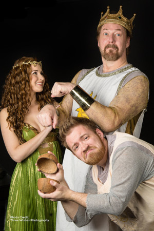 King Arthur, The Knights Of Ni And Killer Rabbits Are Galloping To Franklin with SPAMALOT