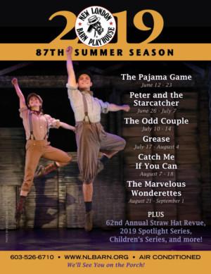 New London Barn Playhouse Announces 2019 Summer Season