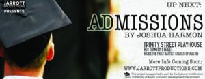 Jarrott Productions Announces Auditions For Joshua Harmon's ADMISSIONS