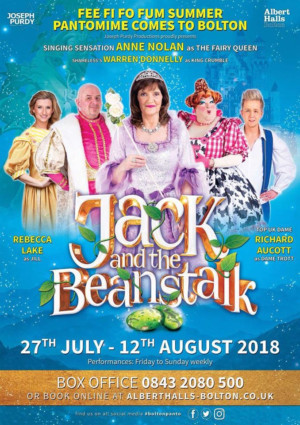 Anne Nolan To Star as The Fairy Queen in JACK & THE BEANSTALK at The Albert Halls