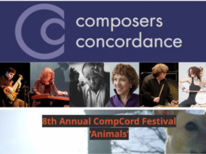 Composers Concordance Presents 8th Annual CompCord Festival - 'Animals'
