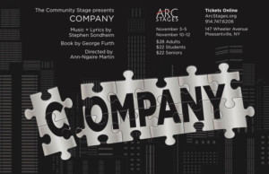 Arc Stages To Present COMPANY Beginning Next Week