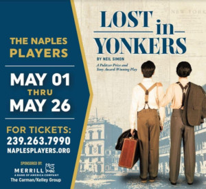 The Naples Players Hosts Red Carpet Event For Opening Night Of Neil Simon's LOST IN YONKERS