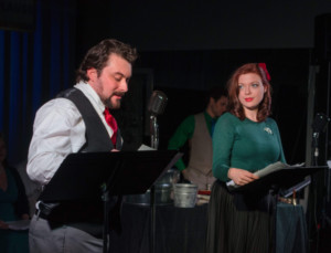 IT'S A WONDERFUL LIFE, A LIVE RADIO PLAY at the Chain Theatre and Woodside Library