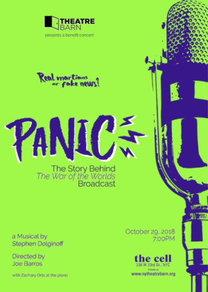 Stephen Dolginoff's Musical PANIC: THE STORY BEHIND THE WAR OF THE WORLDS BROADCAST Will Have One-Night-Only Concert