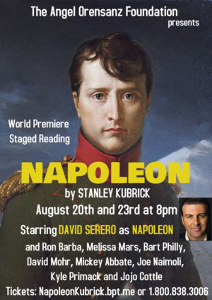 NAPOLEON By Stanley Kubrick To Be Presented For The First Time On Stage