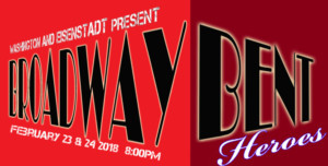 Washington And Eisenstadt present the No Holds Barred Cabaret BROADWAY BENT