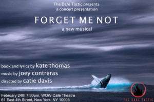The Dare Tactic Presents Joey Contreras & Kate Thomas FORGET ME NOT A Concert Performance