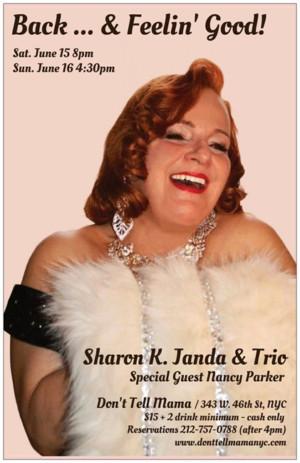 World Class Trio Backs Sharon K. Janda At Don't Tell Mama