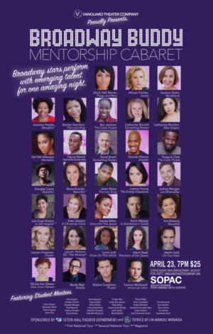 32 Broadway Stars Take The SOPAC Stage In The Broadway Buddy Mentorship Cabaret