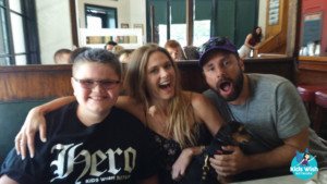 Wish Kid Has Lunch With PSYCH Actors James Roday & Maggie Lawson