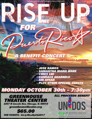 HAMILTON Chicago Cast Members to 'RISE UP' in Support of Puerto Rico