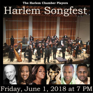 Harlem Chamber Players PresentHARLEM SONGFEST, 6/1