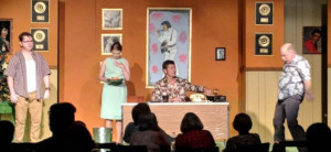 ELVIS HAS LEFT THE BUILDING Continues at Blue Moon Theatre Company
