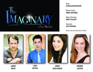 Broadway's Coby Getzug, James Moye, Jenny Rose Baker And Andrea Laxton Lead 29-Hour Reading Of The Upcoming New Musical, THE IMAGINARY.