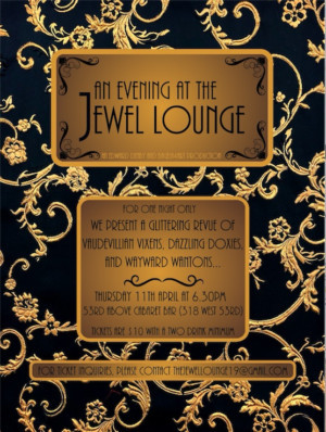 AN EVENING AT THE JEWEL LOUNGE Comes to 53rd Above