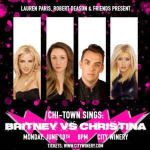 Chi-Town Sings Concert Announces BRITNEY VS. CHRISTINA