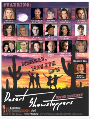 Local Stars Come Together For DESERT SHOWSTOPPERS: Icons Concert