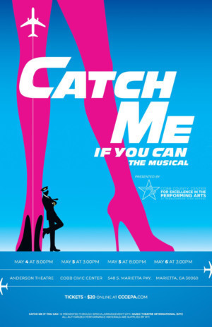 CCCEPA/Pebblebrook Presents CATCH ME IF YOU CAN