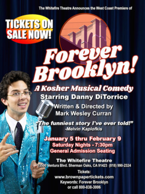 FOREVER BROOKLYN Opens January 5 At The Whitefire