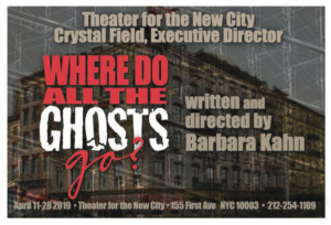 Glorious Ghosts Unite In Barbara Kahn's New Show At Theater For The New City