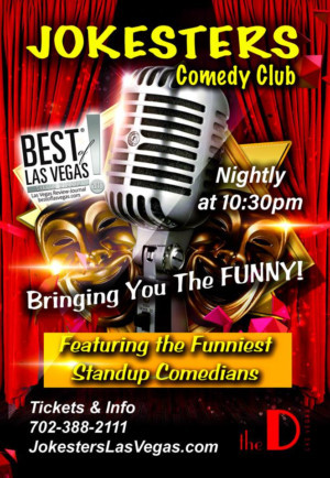 Jokesters Comedy Club Brings Nightly Funny To Las Vegas