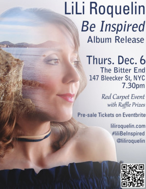 LiLi Roquelin's New Album BE INSPIRED Celebrates Red Carpet Release Party