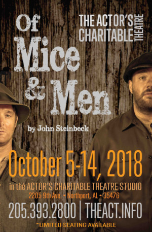 The Actor's Charitable Theatre Presents OF MICE AND MEN