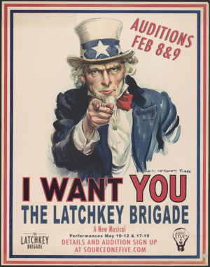 Source One Five Announces Auditions For THE LATCHKEY BRIGADE
