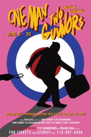 ONE MAN, TWO GUVNORS, A Swinging Sixties Romp, Closes Quintessence Theatre Group's Season