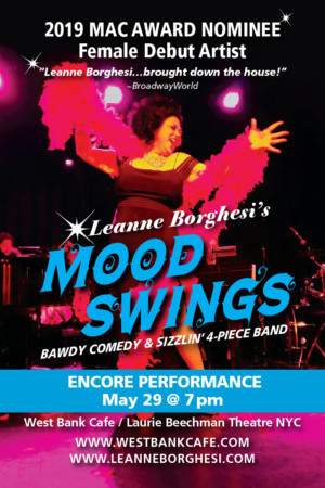Leanne Borghesi's MOOD SWINGS Plays Encore Performance May 29th