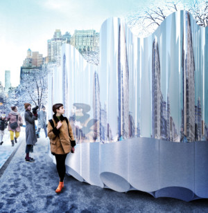 Flatiron Partnership and Van Alen Institute Unveil Winner of Flatiron Public Plaza Holiday Design Competition