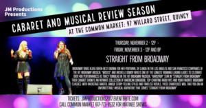 Broadway Divas Alexa Green and Michelle Dowdy Star in STRAIGHT FROM BROADWAY at Common Market